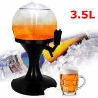 3.5L ワインビールディスペンサーコールド飲料ジュースビール注ぎ口パーティービュッフェドリンクを提供するバー用の器物バーツールアクセサリー