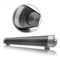 LP-08 Bluetooth Soundbar Speaker surround Stereo Bass bezprzewodowy Subwoofer Głośniki HIFI Dźwięku slim Komputer laptop Tablet PC
