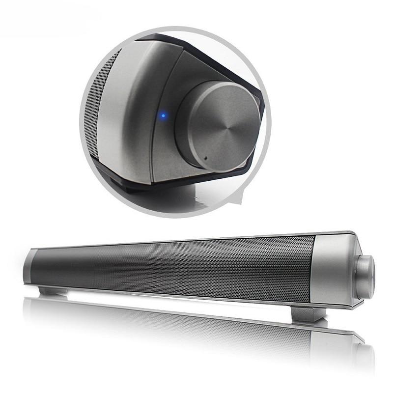 Wireless bluetooth Speaker Soundbar Stereo Bass Subwoofer For Computer PC Laptop