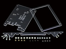 Clear Case for 5inch LCD Type B Combines Raspberry Pi LCD Display 5inch HDMI LCD(B) and Pi into an All-in-one device
