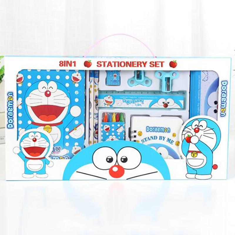 15pcs/set cartoon doradream stationery set novelty kawaii students school supplies children back to school study high quality factors contributing to indiscipline among high school students