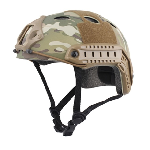 AirsoftSports Sports Helmets Airsoft Skirmish FAST Helmet PJ TYPE Economy Version Hunting MultiCam with Free Shipping
