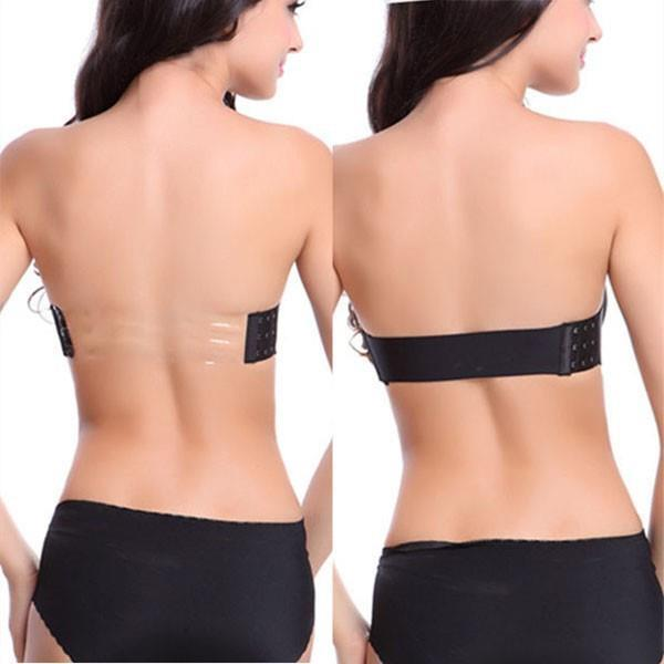 Self Adhesive Magic Smooth Push Up Bra Strapless Invisible Bras Seamless Top 5
