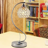 simple fashion A1 Crystal decorative table lamp warm bed bedroom living room touch adjustable light special desk lamp SJ51