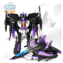 Lensple High Quality 25CM Transformation ko MP11sw Skywarp Robot Action Figure Toys Gift For Children