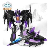 Lensple High Quality 25CM Transformation ko MP11sw Skywarp Robot Action Figure Toys Gift For Children