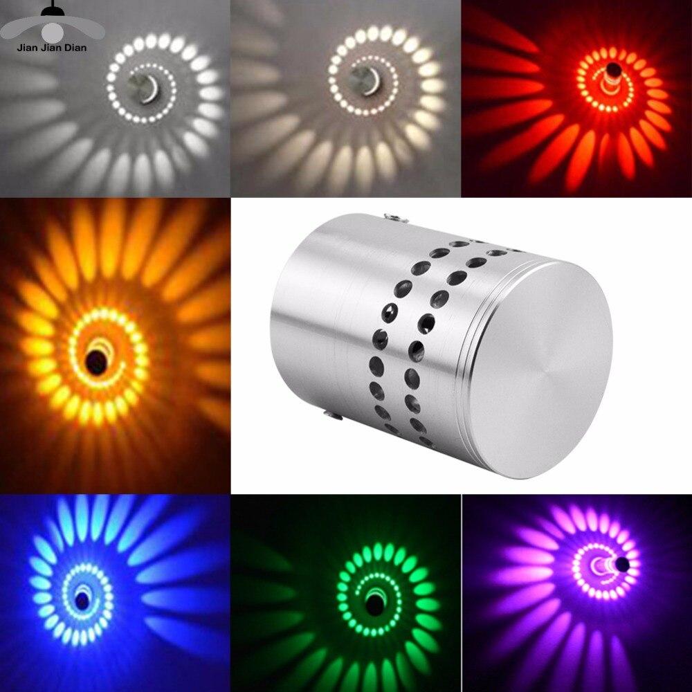 JJD Led Ceiling Corridor Aisle Bar Color Wall Lamp Background Light Foyer light Effect Decorative Lights Colorful RGB Lamp