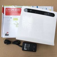 Unlocked Huawei B593 B593s 12 4G LTE Router 4G Router with Sim CardSlot 4G LTE WiFi Router with 4 Lan Port