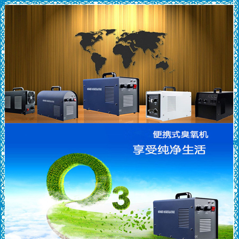 Best Seller 6g Home Use Portable Small Size Ozone Generator Air Purifier China Mainland