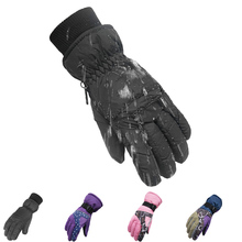 Top Quality New Brand Men's Ski Gloves Snowboard Snowmobile Motorcycle Riding Winter Gloves Windproof Waterproof Snow Glove