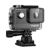 2017 New 4K Action Camera ThiEYE T5e WiFi 30fps 12MP Ambarella A12 Chipset With 2 PCS
