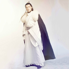 31893d6e2 Mei Chang Su 2015 TV Play Lang Ya Bang Nirvana in Fire Male Hanfu Costume  Fur Cloak