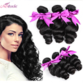 Peruvian Loose Wave Human Hair Extensions 8-26inch Virgin Peruvian Loose Wave 3pcs Lot 8a Unprocessed Virgin Hair Peruvian Hair