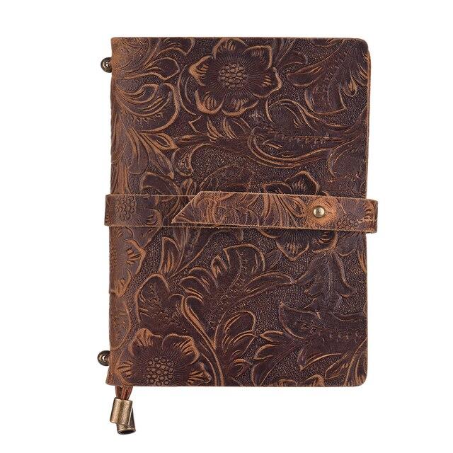 Embossed Travel Journal Notebook Mawgie