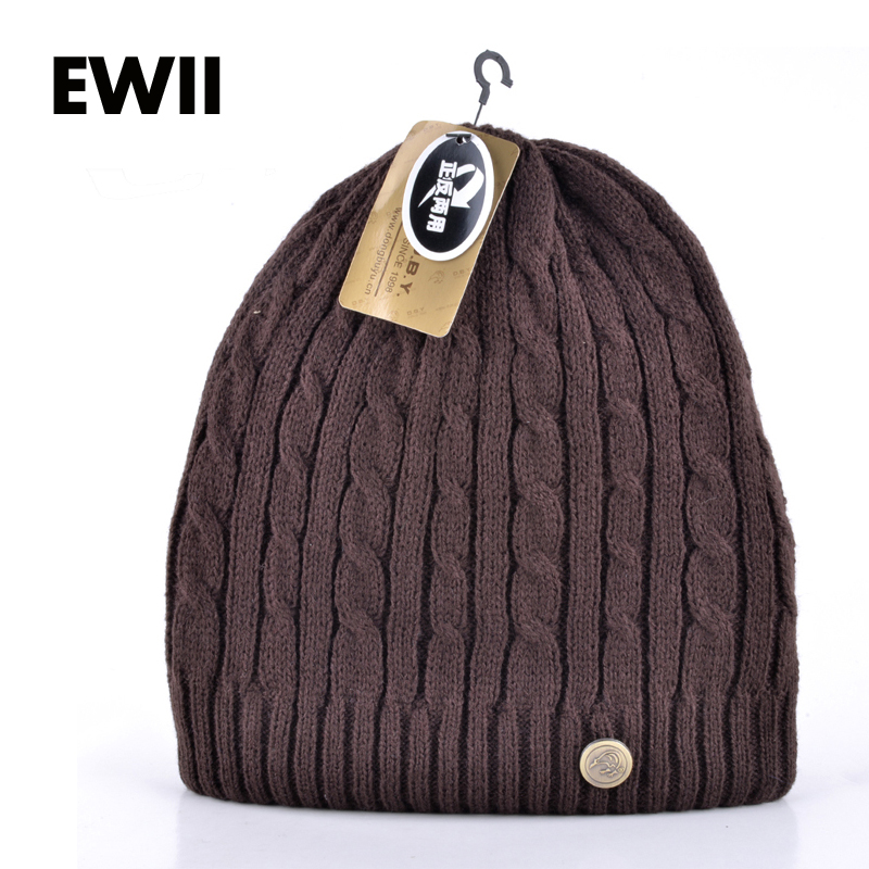2015 nuevos gorros de invierno para hombres de la marca vogue y ropa de doble cara más gorro de terciopelo capó femme casquette hombres
