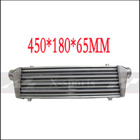 car cooling system turbo Radiators intercooler Front Mount universal High quality aluminum Core body 450*180*65 APEXI