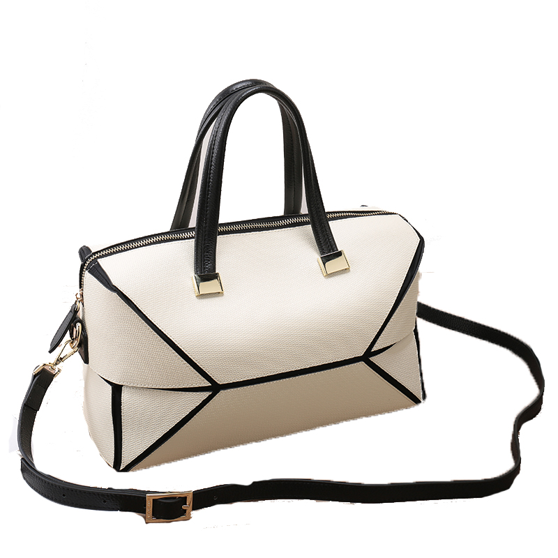 Women Genuine Leather Platinum bag White Red Colors Famous Brand Designer Tote Handbags Real Leather Shoulder Bags sac a main sintir autumn women genuine leather handbags famous brand girls tote shoulder bags designer female crossbody bag bolsos sac main