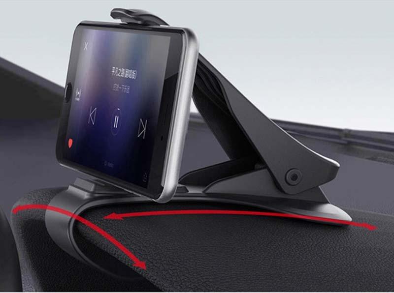 Автомобильный держатель для телефона, 6,5 дюймов, gps навигация, приборная панель, держатель для телефона в автомобиле, универсальный держатель для мобильного телефона с зажимом, подставка, кронштейн