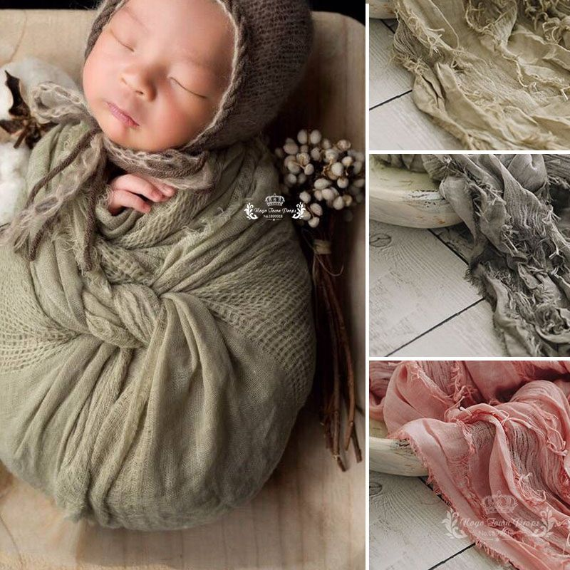 200*70 cm High Quality Jacquard Scarf Fabric Soft Newborn baby Photography Filling Newborn Cheesecloth Wrap, Photo Prop, Newborn black double sided cashmere wool cashmere fabrics jacquard silk fabric scarf skirt scarf dressmaking materials yards h435