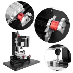Image 4 - 60W 12000R Mini Milling Lathe Metalworking Woodworking Lathe DIY Miniature Normal Manual Milling Machine Y Z Axle Mini Miller