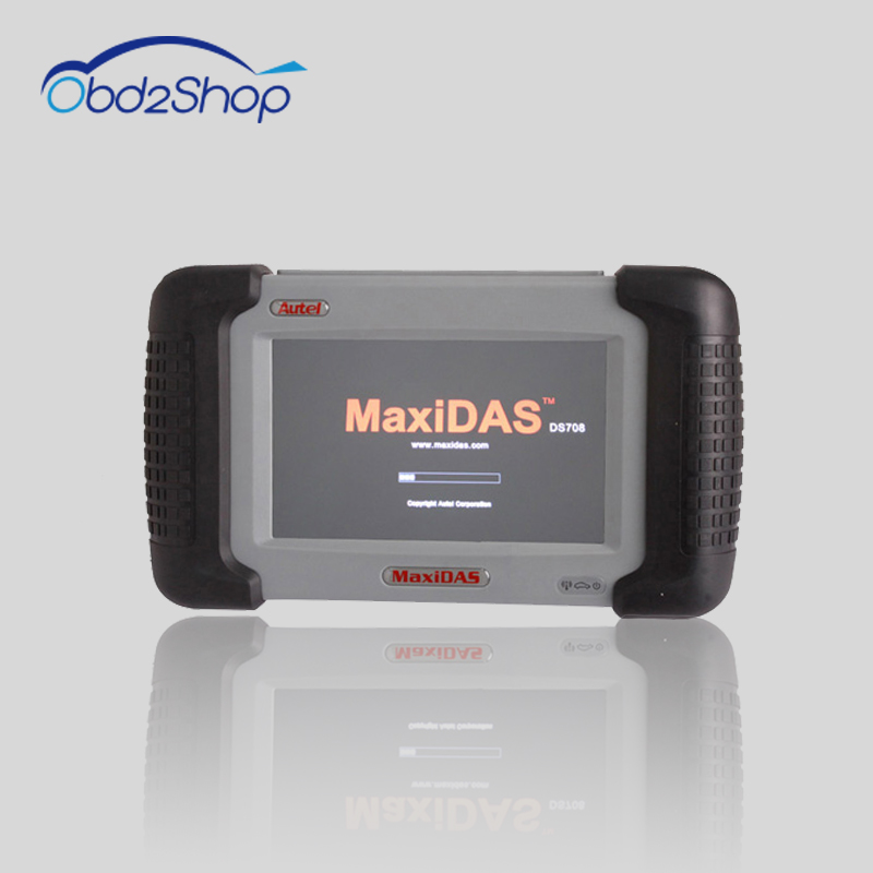 Original Autel MaxiDAS DS708 Spanish+English Version Wireless Scanner ...