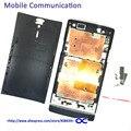 Lt26 Ближний Рамка Рамка + Задняя Крышка Батареи Для Sony Xperia S LT26i LT26 Крышка Батарейного Отсека Ближний Рамка с Логотипом