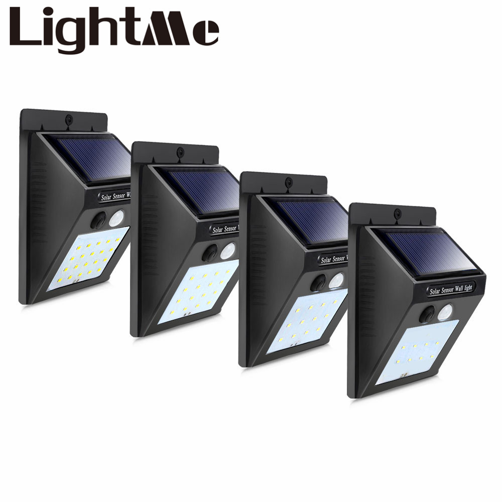 Solar Rechargeable LED Solar Light Bulb Outdoor Garden Lamp Decoration PIR Motion Sensor Night Security Wall light Waterproof