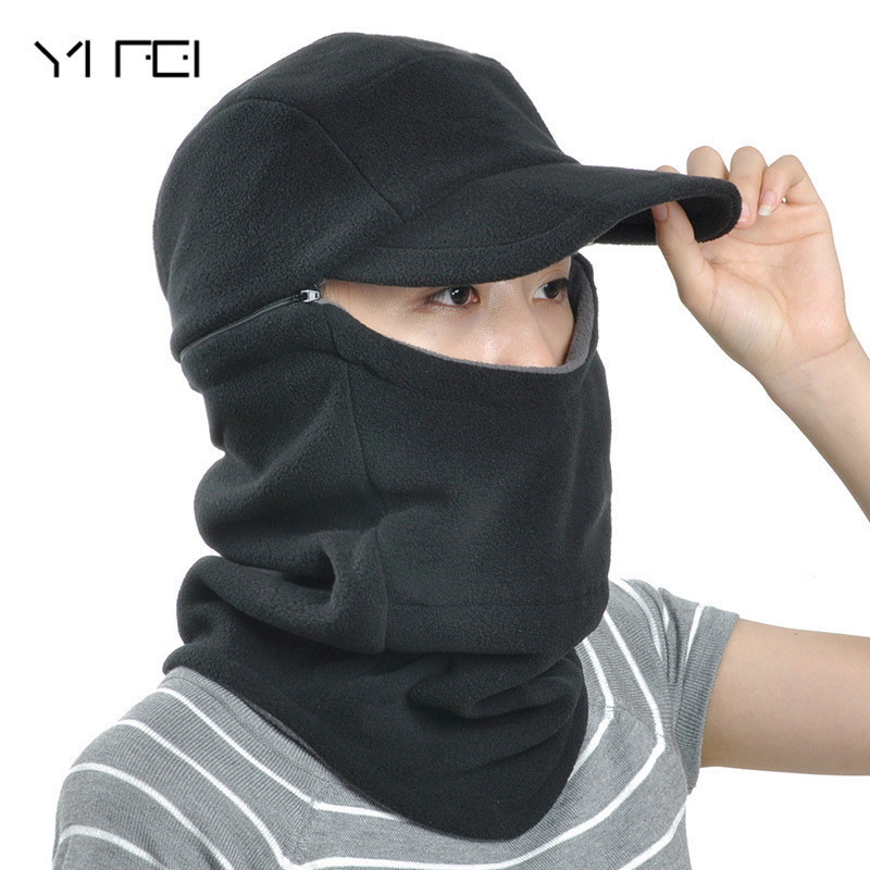 YIFEI Balaclava Trekking Riding biking Ski Hunting Fishing Wind-proof Mask Men Neck Warmer Winter Helmet Cap Women Hat outdoor картридж nv print nvp q5949x q7553x для hp lj 1160 1320 1320n 3390 3392 p2014 p2015 m2727canon lbp 3300 7000стр