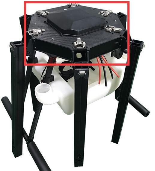 Tablero central de Dron de seis ejes