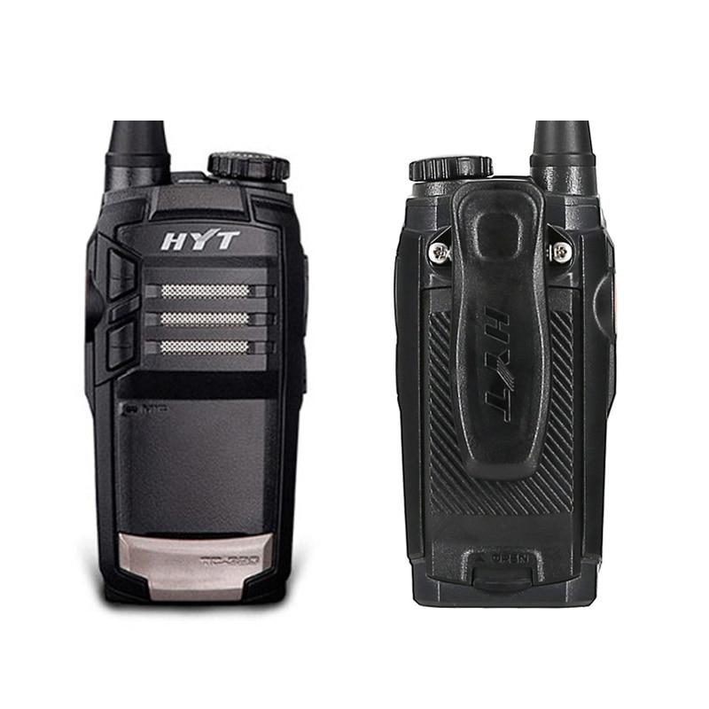 HYT TC-320 UHF 450-470MHz Radio 2W Portable Two Way Ham Walkie Talkie 16 Channel