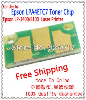 Toner czip do urządzeń firmy Epson LP-1400 LP-S100 drukarki do Epson LP 1400 100 S100 LPA4ETC7 wkład tonera kaseta Chip japonia wersja tanie i dobre opinie Cigo COLOR Printer One-piece kasety Chip do kartridża For Epson LP-1400 LP-S100 Printer