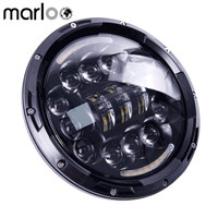 Marloo 90W 7 inch Daymaker LED Headlight Harley Ultra Classic Electra Street Glide FatBoy Heritage Softail Road King Headlights