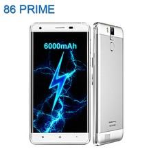 D'origine Oukitel K6000 PRO Android 6.0 Mobile Téléphone 5.5 Pouce 6000 mAh Octa Core MTK6753 3 GB + 32 GB Smartphone 4G 16MP Téléphones Cellulaires
