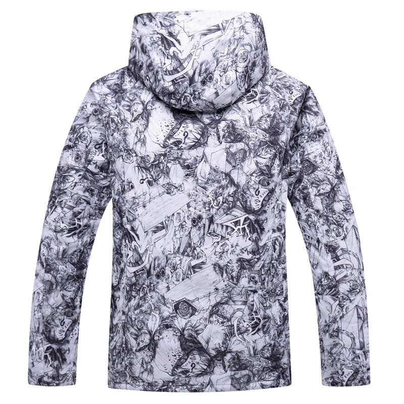 Großhandel Winter Herren Ski Wear Outdoor Ski Jacke Winddicht Wasserdicht Super Warm Schnee Jacke Große Größe S XXXL Hohe Qualität Von Dragonfruit,