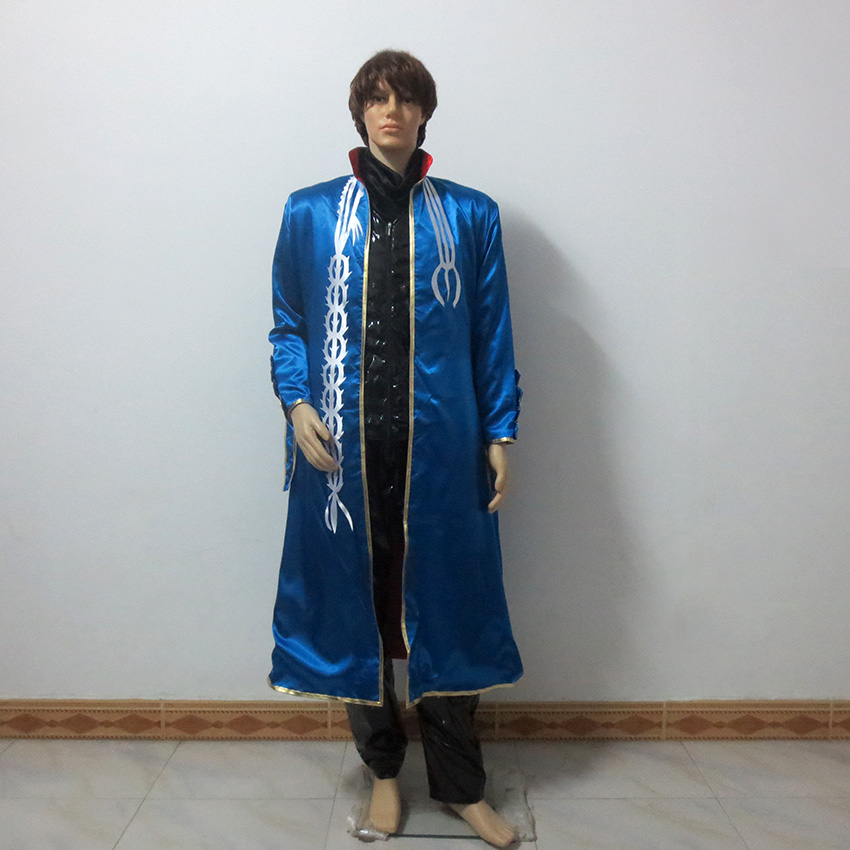 DMC 3 Vergil Nelo Angelo Cosplay Christmas Party Halloween Outfit Cosplay Costume Customize Any Size