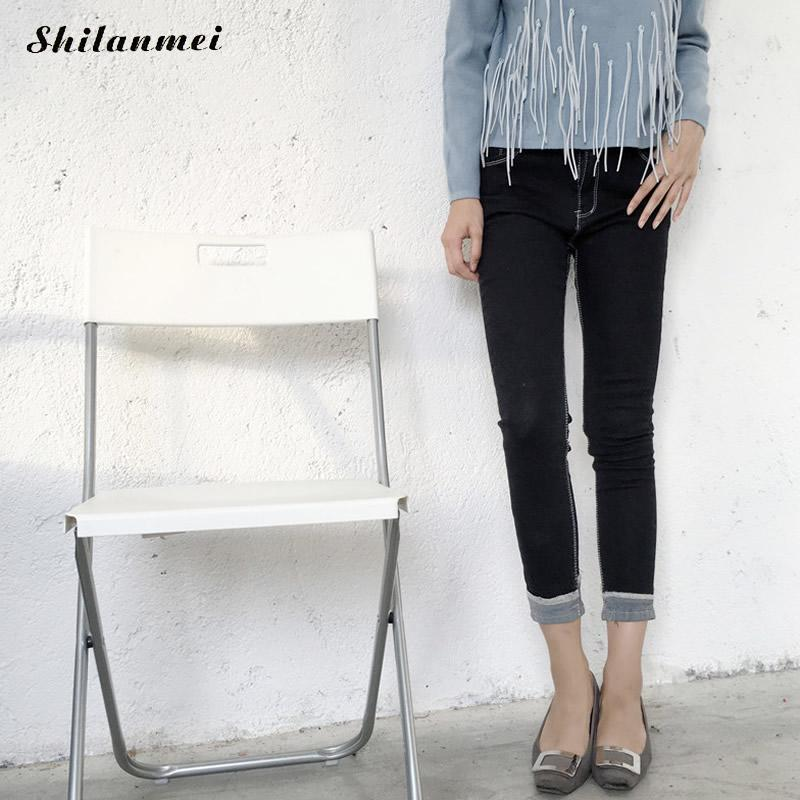 2017 Spring Fashion Jeans Women Pencil Pants High Waist Jeans Sexy Slim Skinny Pants Trousers Fit Lady Black Jeans Boyfriend fashion jeans femme women pencil pants high waist jeans sexy slim elastic skinny pants trousers fit lady jeans plus size denim