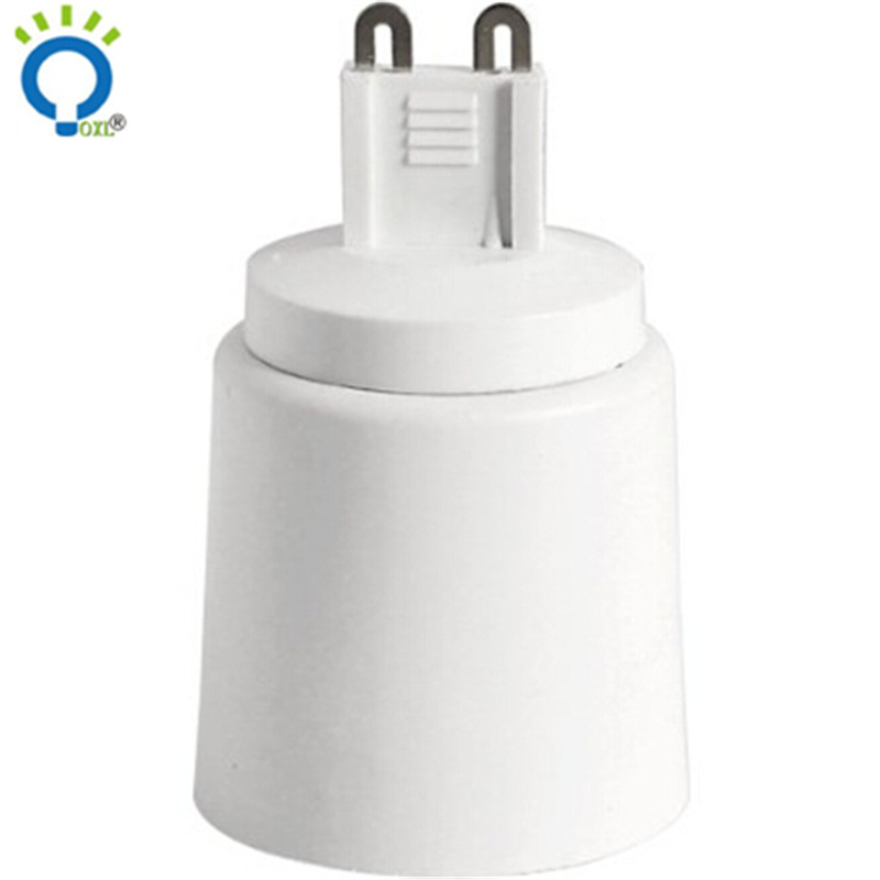 GU9 bis E14 led glühbirne lampbase gu9 e14 Halogen CFL EDISON SCHRAUBE...