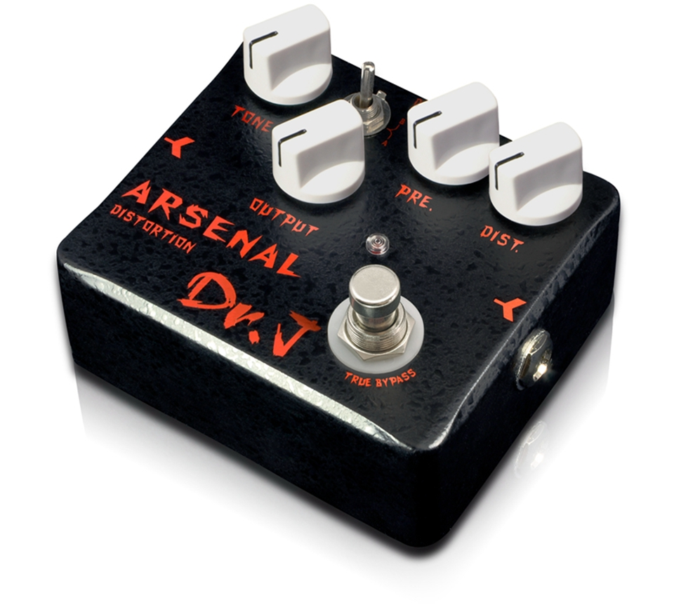 Joyo Arsenal Distortion Electric Guitar Effect Pedal Aluminum Alloy Housing True Bypass Dr.J D-51