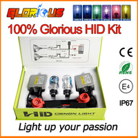 D2S XENON HID KIT AC C5 55W HID Xenon Kit Black Slim Ballast D2S D2C 6000K