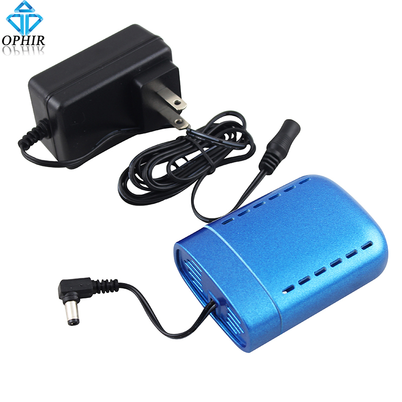 OPHIR Portable Mini Air Compressor Battery Rechargeable with Power Charger for Airbrush Compressor Charging Battery_AC079 mini compresor de pintura