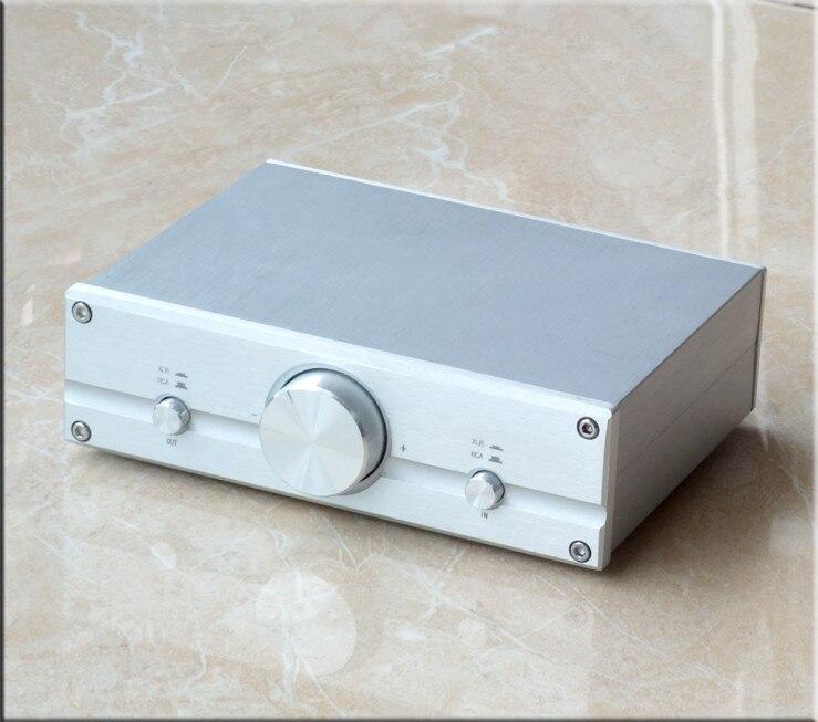 FV2 полностью сбалансированный пассивный усилитель/регулятор громкости XLR/RCA HiFi Предварительный усилитель