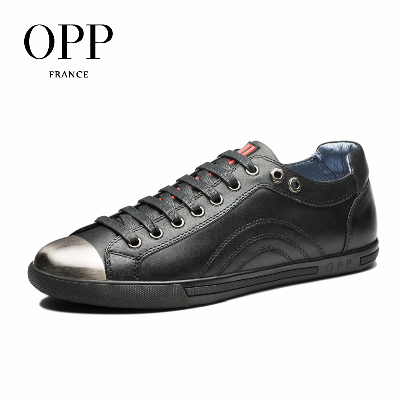 OPP 2017 Men Shoes Loafers For Men Cow Leather Flats Shoes Casual Shoes Cow Leather Loafers footwear for Men Lace up Flats zplover fashion men shoes casual spring autumn men driving shoes loafers leather boat shoes men breathable casual flats loafers