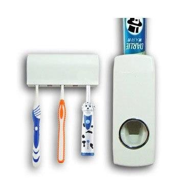 Distributeur automatique de dentifrice et toothpastebrush holder set, Livraison gratuite