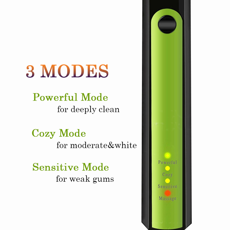 Joincare New Pro Sonic Electric Toothbrush Rechargeable 100-240v Charge 3pcs Replaceable Head Timer Teeth Tooth Brush Waterproof