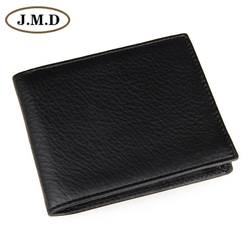 Free Shipping JMD Genuine Cowhide Leather Mini Men Pocketbook Wallets Card Holder Purse Dollar Price  # 8029A 2016 new arrive pvc and pu leather purse american marvel comic deadpool wallet with card holder dollar price free shipping
