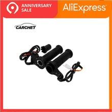 CARCHET мотоциклетный руль, мотоциклетная нагревательная ручка с подогревом, набор универсальных мотокроссов, руль с подогревом для Honda и т. д
