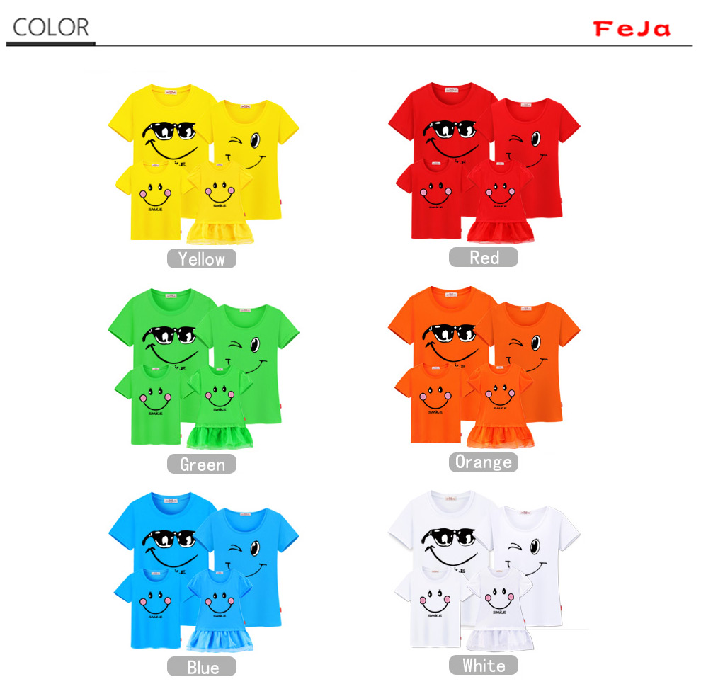 HTB1oO3CQVXXXXXxXXXXq6xXFXXX4 - family matching clothes Mother daughter dresses outfits cotton casual T-shirts family Look cotton mother father son clothing