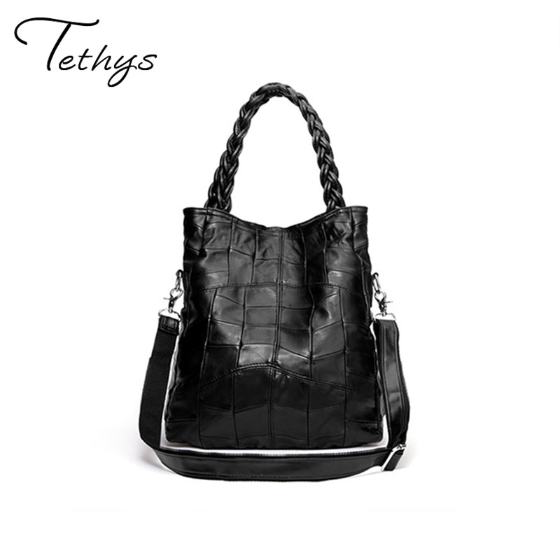 2017 nuevo bolso de las mujeres Negro bolsa de mensajero bolsas de moda femenina