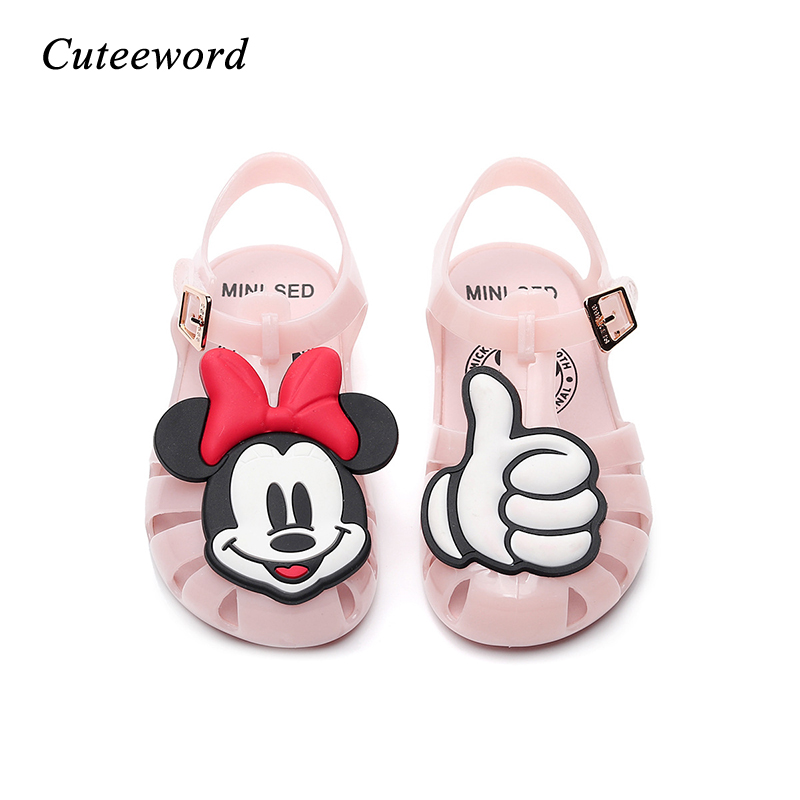 2019 New Kids Jelly Shoes for Boys and