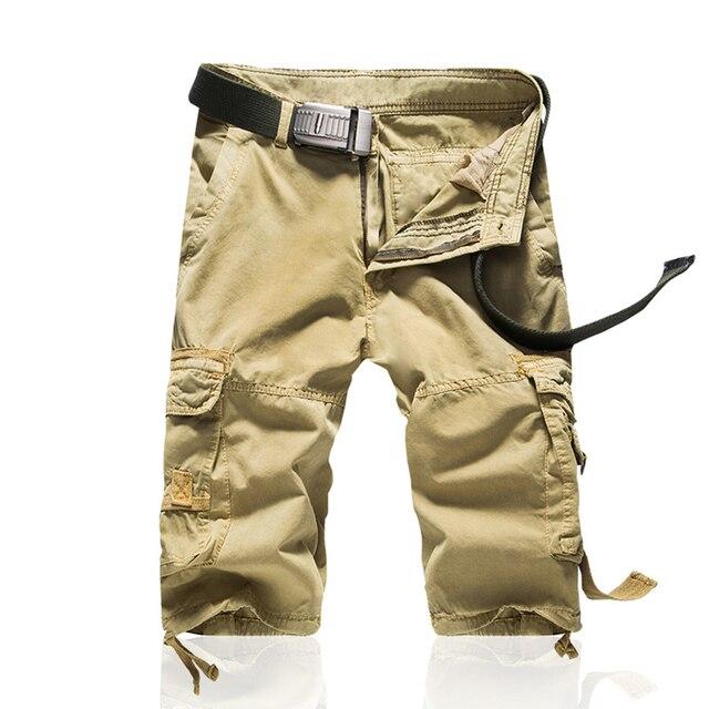 nouveau produit 176ec 9bb4f Shorts Man Brand Fashion Mens Bermuda Short Men Homme Casual Cargo Beach  Shorts Men Summer Beachwear Military Camouflage Short